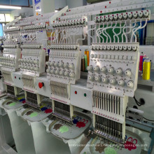 9 needles computerized 4 head embroidery machine for cap t shirt flat embroidery