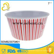 100% melamine popcorn bowls