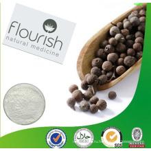 Бесплатный образец 100% натурального сырья Черный экстракт перца 10% Piperine