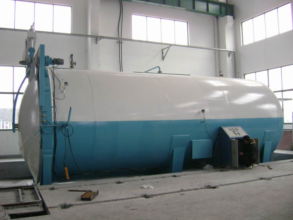 High Pressure Autoclave Glass Reactor