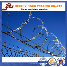 450mm / 730mm / 980mm Razor Barbed Wire / Galvanized Razor Barbed Wire
