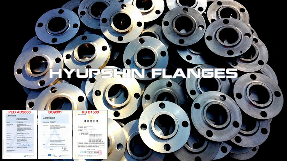 Hyupshin Flanges Slip On Hub Bossed