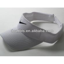 100% polyester Customized Logo fashion Sun visor cap