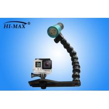 Heißer Verkauf 2400lm Tauchen Taschenlampe V11 für 1pcs 32650 Akku technologische Fotografie Licht