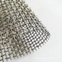 Stainless steel wire decoration curtain wall metal mesh for building