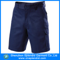Hot Selling Cotton Drill Navy Blue Work Cargo Shorts