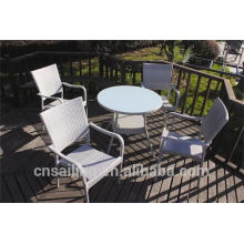 Luxury Durable Easy Cleaning coffee table set chairs