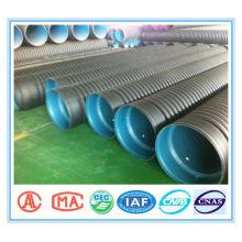 linha de produção de tubos corrugados de parede dupla PE
