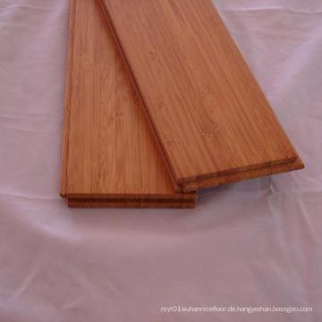 Karbonisierter vertikaler fester Bambusbodenbelag T & G