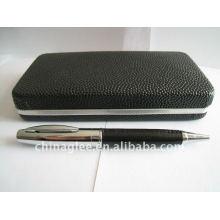 high grade leather pen set