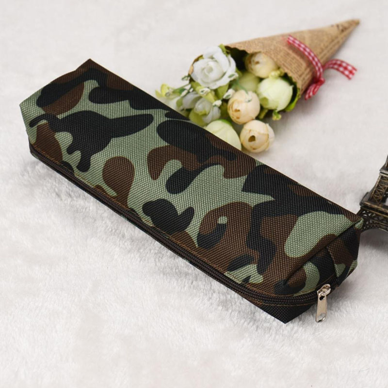 Camouflage Pen Bag Pencil Cases