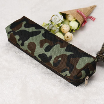 Custom Canvas Camouflage Pen Bag for School