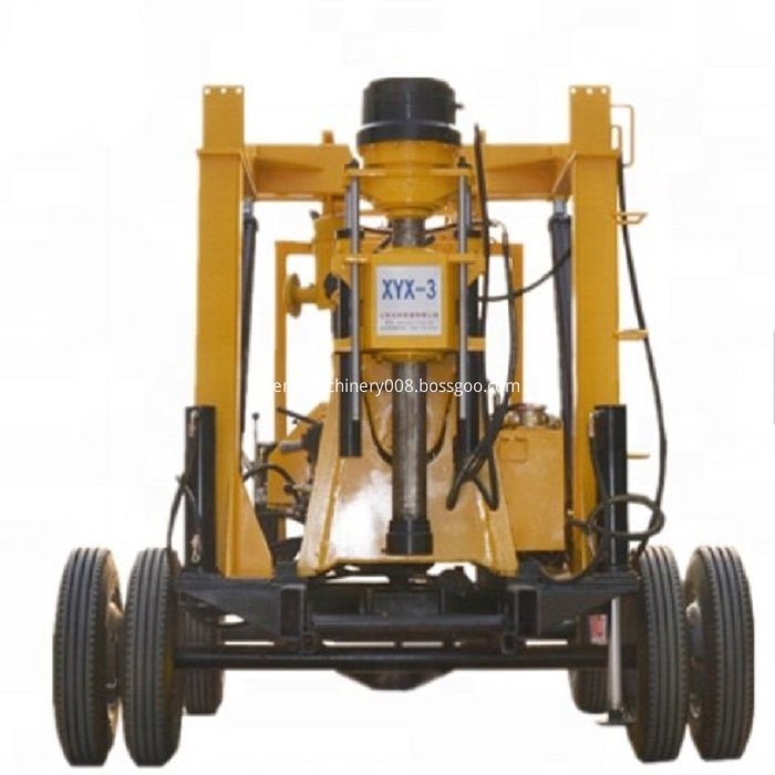 Portable Truck Drilling Rig Machine