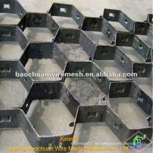 De alta temperatura de acero inoxidable Tortoise Shell Mesh (Fábrica)