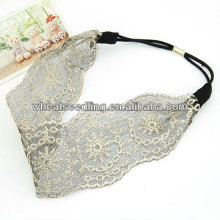 Hot Sale Hollow Out Lace Wide Cloth Hair Band HB24