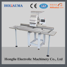 New Single Head Flat Embroidery Machine with Embroidery Area 400*1200mm