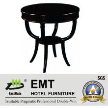 Lujo más nuevo diseño Perfect Piano Lacquer Mesa de centro de madera maciza (EMT-CT10)