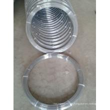 Oval verzinkter Stahldraht 2.4X3.0mm hoher Kohlenstoff
