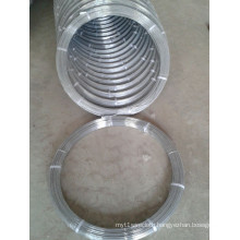 Oval Galvanized Steel Wire 2.4X3.0mm High Carbon
