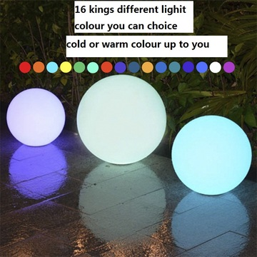 LED BALL LJUS