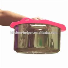 Novo Produto Silicone Bowl Cover / Silicone Pot Cover Set / Silicone Pot Cover Lid