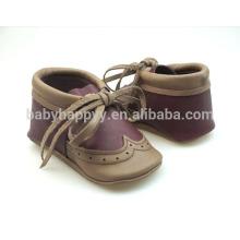 Chaussures décontractées de haute qualité chaussures en cuir bébé