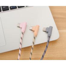 Câble USB coude 2.4A 90 degrés