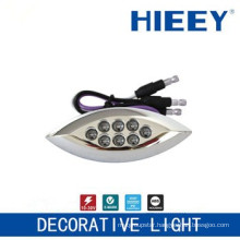LED side marker lamp plating lamp license plate light decorative light with 3 wires