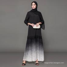 label manufacturer Owner Designer brand oem women Islamic Clothing custom dubai fancy dress black embroidered abaya
