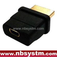 HDMI A Typ männlich zu D Typ weiblichen Mikroadapter