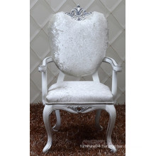 wholesale baroque chair with arm / baroque dining chair