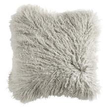 Long Hair Mongolian Lamb Fur Sofa Pillow