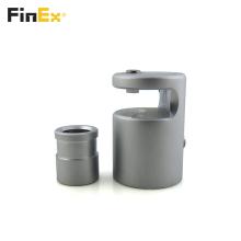 Soporte de letrero Separador de aleación de aluminio Separador de abrazadera lateral