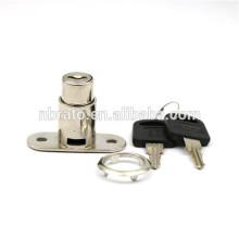 Acabamento de níquel Cilindro de liga de zinco Push Lock para Slidng Door