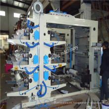 2014 Nuevo certificado CE Seis máquina de impresión Flexo color
