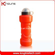 Garrafa de água de plástico, garrafa de água desportiva plástica, garrafa de bebida plástica de 750 ml (KL-6735)
