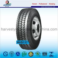 """R24.5 """"R22.5"""" Neumáticos radiales para remolques totalmente de acero en gran oferta"""