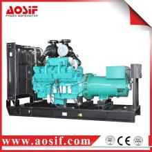 China 800kw / 1000kva generador utilizado generador a prueba de sonido KTA38-G2A diesel