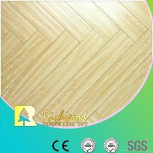 8.3mm AC3 en relieve de nogal Sound Absorbing Laminte Flooring