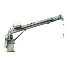 5T ship deck crane in harbor use