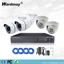 4CH Keselamatan 1MP Starter IP Camera Poe System