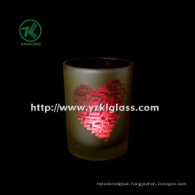 Color Double Wall Glass Candle Votive by SGS (DIA 8*10.5...)