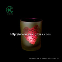 Двойная стеклянная свеча Votive от SGS (DIA 8 * 10,5 ...)
