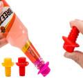 Custom Expandable Ketchup Bottles Rubber Plugs