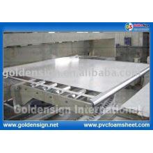 Hochwertiges weißes / farbiges PVC-extrudiertes Blatt