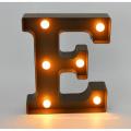 Letra plástica nova do diodo emissor de luz para a decoração Home