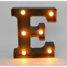 Новое пластиковое светодиодное письмо для домашнего украшения