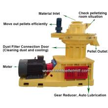 90kw Ring Die Wood Pellet Machine DIY