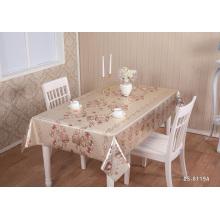 Toalha de mesa em PVC dourado para festa de casamento Toalha de mesa em relevo