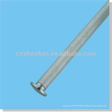 Vorhang Zubehör-Eisen Vorhang Endkappe (kleine Größe) für runde Bodenschiene von Rollo-Fenster-Abdeckung Zubehör